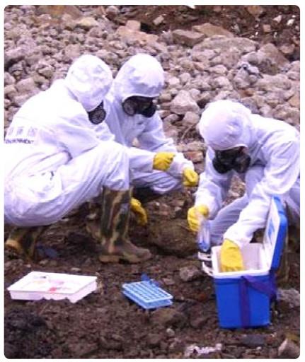 土壤和底泥污染物浓度检测,危险固废鉴定及生物毒性分析